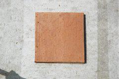 エコセラタイル(リサイクル焼成舗装平板:受注生産商品)